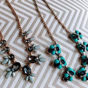 Set of 2 J Crew Necklaces